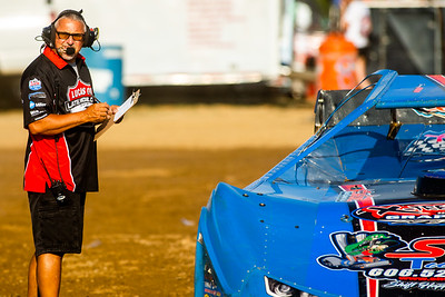 Lucas Oil Late Model Dirt Series official Dale Robison