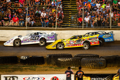 Duane Chamberlain (20C), Devin Gilpin (1G) and Kyle Strickler (8)