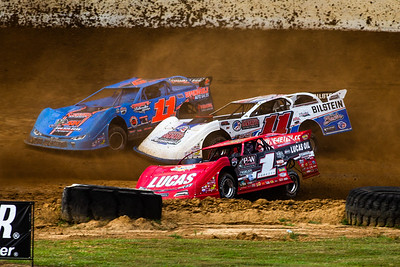 Earl Pearson, Jr. (1), Spencer Hughes (11) and Tommy Bailey (11B)