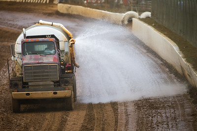Florence Speedway track prep