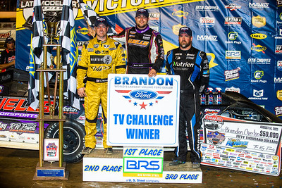 Tim McCreadie (L), Brandon Overton (C) and Jonathan Davenport (R)