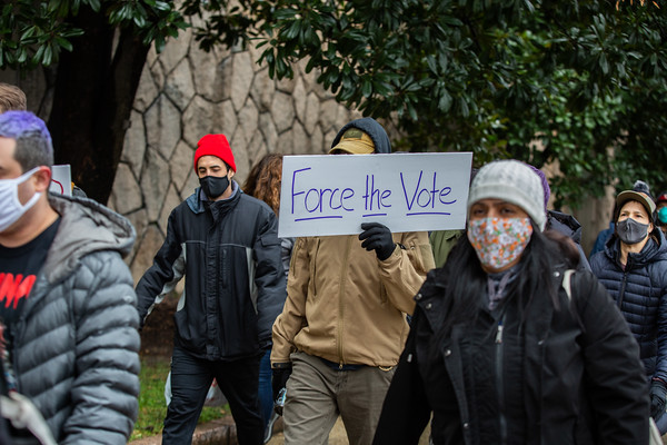 Force The Vote, Washington DC, January 3