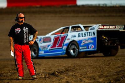 Lucas Oil Late Model Dirt Series official Brad Fisher