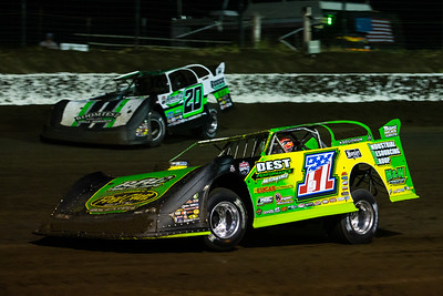 Tyler Erb (1) and Jimmy Owens (20)