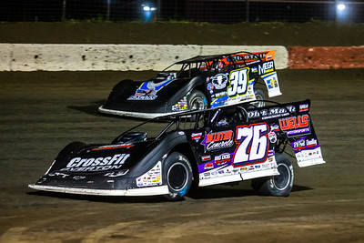 Brandon Overton (76) and Tim McCreadie (39)