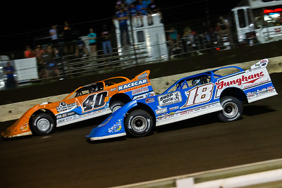 Kyle Bronson (40B) and Chase Junghans (18)