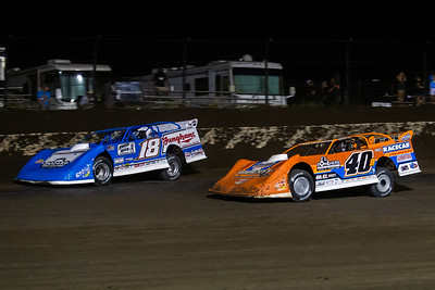 Chase Junghans (18) and Kyle Bronson (40B)