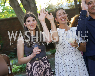 Angela Lintner, Marissa Cuellar. Photo by Tony Powell. ISH Garden Gathering. June 29, 2021