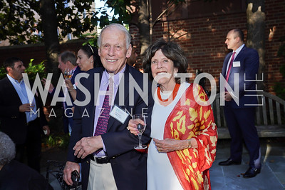 Walter and Didi Cutler. Photo by Tony Powell. ISH Garden Gathering. June 29, 2021