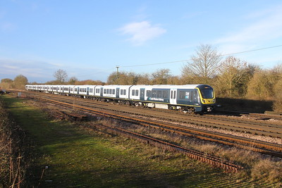 701013 Worting Junction 21/01/21 5Q50 Southampton Central to Staines Up Goods Loop