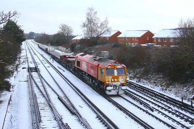 66783 Worting Junction 24/01/21 6G15 London Waterloo to Vauxhall