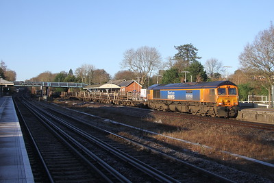 66731 Hook 22/01/21 6Y48 Eastleigh to Hoo Junction