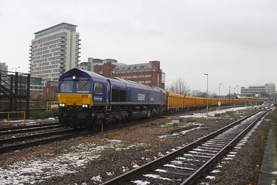 66791 Basingstoke 26/01/21 6M26 Eastleigh to Mountsorrel