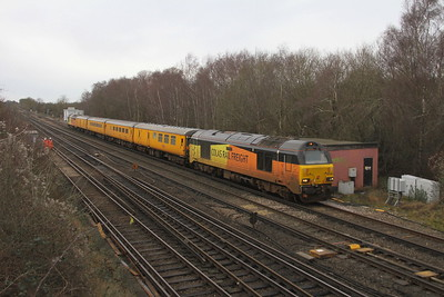 67027 Worting Junction 21/01/21 1Q54 Eastleigh to Tonbridge
