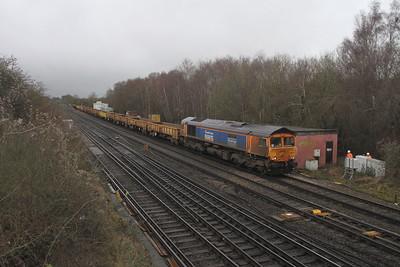 66731 Worting Junction 19/01/21 6Y48 Eastleigh to Hoo Junction