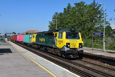 16 June 2021 :: 70001 is at Basingstoke leading 4M55 from Southampton Lawley Street