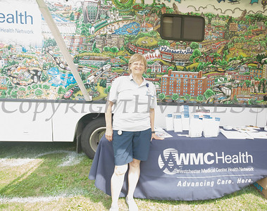 WMC Health participated in the Juneteenth Celebration in Mansion Park followed the mural dedication of Tree Arrington at the Family Partnership Center in Poughkeepsie on Saturday, June 19, 2021. HUDSON VALLEY PRESS/ Chuck Stewart, Jr.