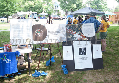 Race Unity Circle participated in the Juneteenth Celebration in Mansion Park followed the mural dedication of Tree Arrington at the Family Partnership Center in Poughkeepsie on Saturday, June 19, 2021. HUDSON VALLEY PRESS/ Chuck Stewart, Jr.