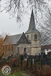 Naast het kasteel van Limbricht ligt het van oorsprong middeleeuwse Sint Salviuskerkje. De oudste nog aanwezige bouwfragmenten van een oorspronkelijk rechthoekig zaalkerkje dateren van omstreeks het jaar 1000. Eind 13de eeuw wordt een apsis aangebouwd waarin zowel romaanse als gotische stijlelementen te herkennen zijn. Door de eeuwen heen worden diverse aanvullingen gerealiseerd. Een toren in 1458, een zijbeuk, ophoging en trapgeveltjes rond 1650. Aanvankelijk maakte het kerkje onderdeel uit van het kasteelcomplex, viel onder het gezag van de kasteelheren en lag binnen de grachten. Tot 1922 was het tevens parochiekerk, daarna werd het aan de eredienst onttrokken en volgde een periode van verval. Bij restauratie werden in 1977 middeleeuwse gewelfschilderingen aangetroffen uit rond 1300, die van groot kunsthistorisch belang zijn. Dankzij zorgvuldige restauratie en conservering ontleent het kerkje zijn belangrijke status vooral aan deze middeleeuwse Mariacyclus. Het Salviuskerkje wordt tot de top-honderd-monumenten van Nederland gerekend.