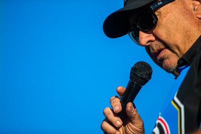 Knoxville Raceway promoter John McCoy