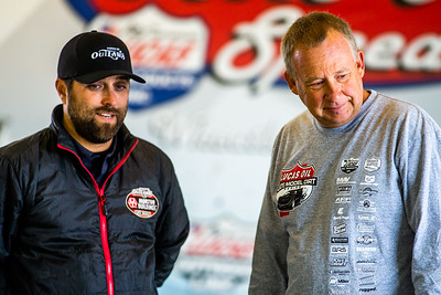 Casey Shuman (L) and Steve Francis (R)