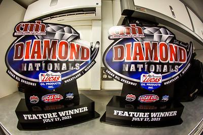 Diamond Nationals trophies