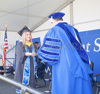 Mount Saint Mary College's 58th Commencement Exercises for the graduating Class of 2021 in Newburgh, NY on Friday, May 21, 2021. Hudson Valley Press/CHUCK STEWART, JR.