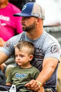 Kyle Bronson (40B) and Waylon