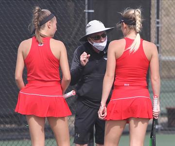 Women's Tennis takes on PC.