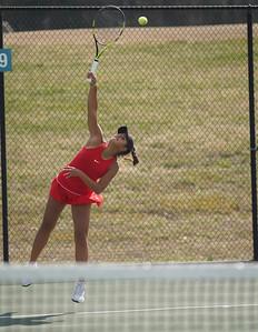 Women's Tennis vs. PC