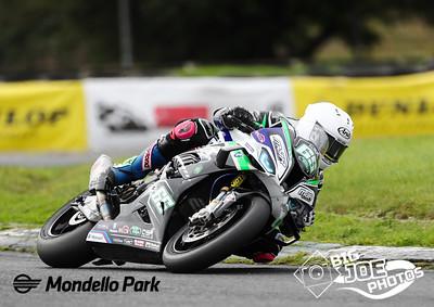Masters Superbike, Sept 25/26th 2021, Mondello Park. Michae; Sweeney Turn 4, Superbike race one.