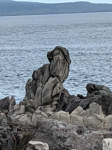 and strange rock formations.