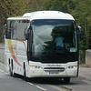 Heyfordian Neoplan Tourliner OU17ORZ in Summertown, Oxford, on a private tour, 01.05.2021.