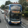 Stagecoach ADL Enviro 400 MMC SN16OZL 10682 in Summertown, Oxford, on the 2 to Kidlington, 01.05.2021.