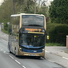 Stagecoach Gold ADL Enviro 400 MMC SN66VZH 10786 in Summertown, Oxford, on the 7 to Woodstock, 01.05.2021.