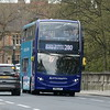 Arriva Sapphire ADL Enviro 400 SN15LPY 5468 arriving into Oxford on the 280 from Aylesbury, 01.05.2021.