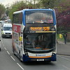 Stagecoach ADL Enviro 400 MMC SN16OZA 10678 in Summertown, Oxford, on the S5 to Bicester, 01.05.2021.