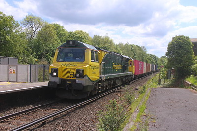 70003 Micheldever 27/05/21 4M46 Southampton to Trafford Park