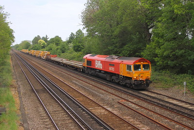 66783 Old Basing 29/05/21 6X12 Eastleigh to Streatham South Junction
