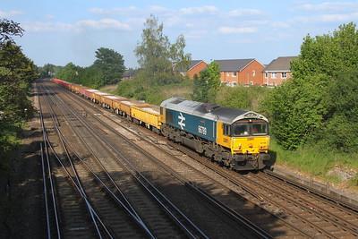 66789 Worting Junction 31/05/21 6Y42 Hoo Junction to Eastleigh