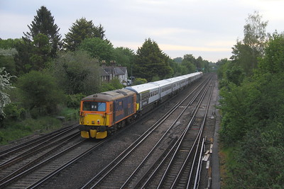 73213 Worting Junction 28/05/21 5Q81 Eastleigh to Wolverton