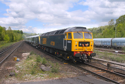 47739 Micheldever 27/05/21 5Q10 Derby Litchurch Lane to Eastleigh with 701005