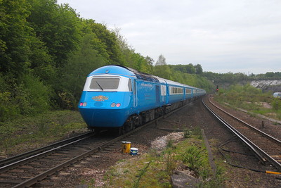 43046 Micheldever 29/05/21 1Z60 Eastleigh to Penzance
