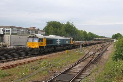 66789 Basingstoke 28/05/21 6Y42 Hoo Junction to Eastleigh