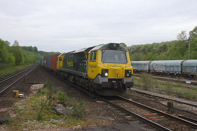 70003 Micheldever 29/05/21 4O22 Trafford Park to Southampton