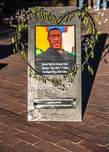 Sunset Vigil for George Floyd, May 25, 2021-Marnie Walters (3 of 16)