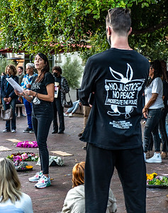 Sunset Vigil for George Floyd, May 25, 2021-Marnie Walters (10 of 16)