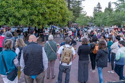 Mill Valley Vigil for George Floyd