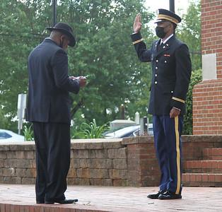 GWU's 2021 ROTC Commissioning.