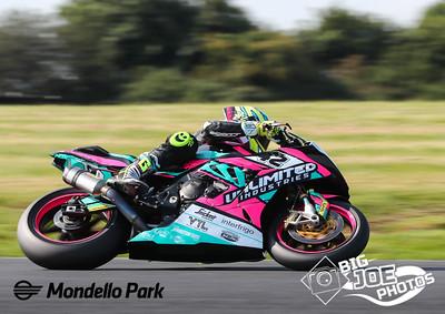 Masters Superbike, August 28th 2021, Mondello Park, Luke Johnston, BMW 1000RR, turn 4 Superbike race one.